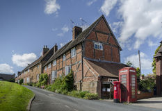 Quaint charming British village scene Royalty Free Stock Photo