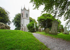 Quaint church in countryside Ireland Stock Photos