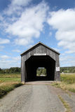 Quaint Covered Bridge Royalty Free Stock Images