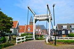 Quaint Dutch village Stock Photo