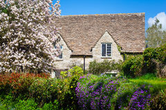 Quaint English Country Cottage Stock Image