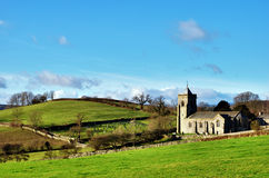 Quaint English Rural Church Royalty Free Stock Images
