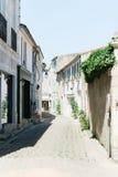 Quaint European Street. Quaint Back Alley European Street in Southern France Stock Images