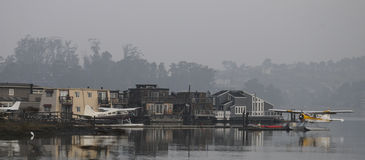 Quaint harbor Royalty Free Stock Image