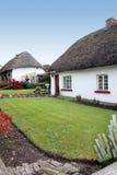 Quaint Ierse plattelandshuisjes Stock Fotografie