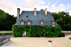 Quaint leafy building, Loire, France Royalty Free Stock Photography
