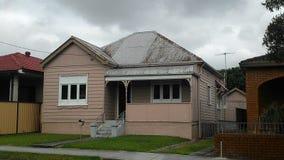 Quaint pink home - Australia Royalty Free Stock Photo