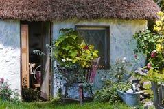 Quaint plattelandshuisje Royalty-vrije Stock Fotografie