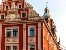 Quaint Renaissance Town Hall on the Market square in Gotha, Germany Royalty Free Stock Photos