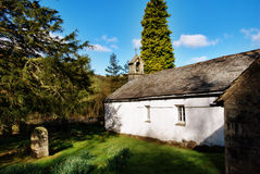 Quaint rural stone church Wythburn, Cumbria Stock Image