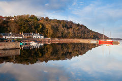 Quaint Scottish village Stock Photos