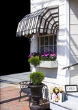 Quaint Store Front. Side view of quaint store front in small town America royalty free stock image