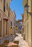 The Quaint Street. Quaint old street in Silves, Portugal Royalty Free Stock Photography