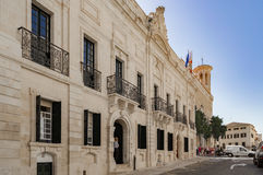 The quaint streets of Mahon in Spain Royalty Free Stock Image