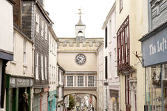 Quaint Town Clock royalty free stock images