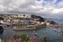 Mevagissey and Harbour Royalty Free Stock Photography