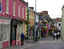 Ennis, Ireland. Quaint village of Ennis Ireland on the western side of Ireland Stock Photography