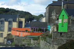 Village in Ireland Stock Image