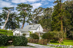 Quaint White House in Northern California Royalty Free Stock Image
