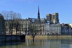 Quais De die Seine - Paris stockfotos