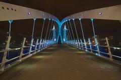 Quais de Salford, Manchester Photo libre de droits