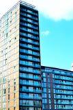 Quais de Salford, Manchester, R-U Photo stock
