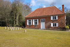 Quaker Meeting house and Burial Ground Royalty Free Stock Photo