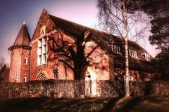 Quaker meeting house Royalty Free Stock Image