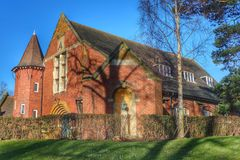 Quaker meeting house Stock Photo