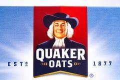 Quaker Oats Comapny Logo Stock Image