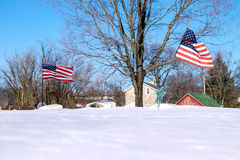 Quaker Veteran cemetery Royalty Free Stock Images