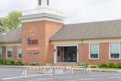 QNB Finance Bank front. Quakertown, Pennsylvania, May 19 2018: QNB Finance Bank front Stock Photos
