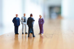 Qualche gente di affari in scena Fotografia Stock Libera da Diritti
