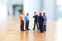 Qualche gente di affari in scena Fotografie Stock