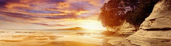 In qualche luogo in Nuova Zelanda Fotografie Stock