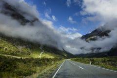 In qualche luogo in Nuova Zelanda Fotografia Stock Libera da Diritti