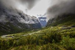 In qualche luogo in Nuova Zelanda Immagine Stock