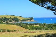 In qualche luogo in Nuova Zelanda Fotografia Stock