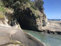 In qualche luogo in Nuova Zelanda Immagini Stock