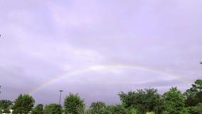 In qualche luogo sopra il Rainbow Fotografie Stock