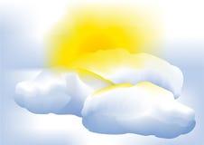 In qualche modo nuvoloso Fotografia Stock Libera da Diritti