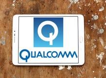 Qualcomm company logo Royalty Free Stock Image