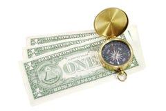 Quale modo per il dollaro? Fotografia Stock