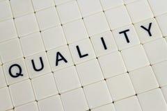 Qualidade Fotografia de Stock