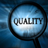 Qualidade Foto de Stock