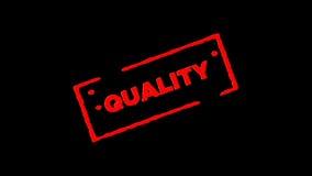 A qualidade de borracha vermelha do selo da tinta assinada zumbe dentro e zumbe para fora com fundos da transparência do canal al vídeos de arquivo
