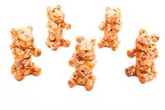 Qualidade do estúdio de Sugar Sweet Dessert Bear do caramelo fotos de stock royalty free