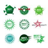 Qualidade dos ícones do vetor a melhor Imagens de Stock Royalty Free