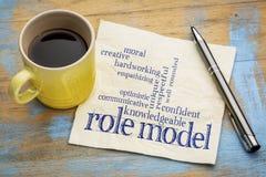 Qualidades do modelo Imagem de Stock Royalty Free