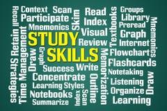 Qualifications d'étude illustration de vecteur
